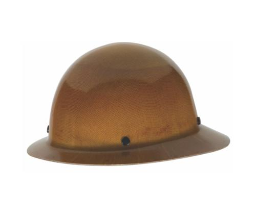 Skullgard Protective Hat Natural Tan w/ Fas-Trac III Suspension