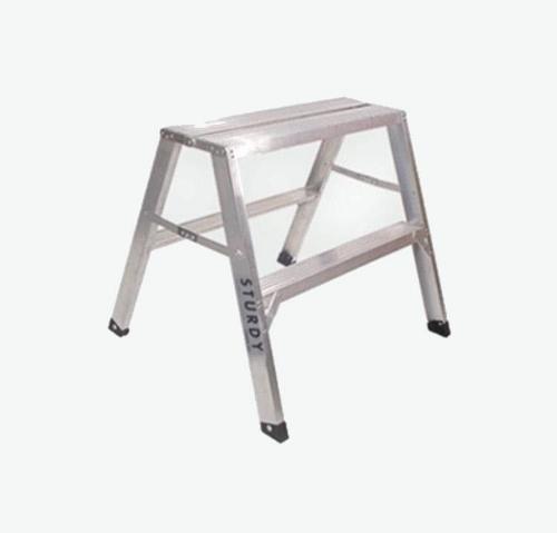 30 in x 4 ft Sturdy Ladder 140 Series Aluminum Flat-Top Sawhorse