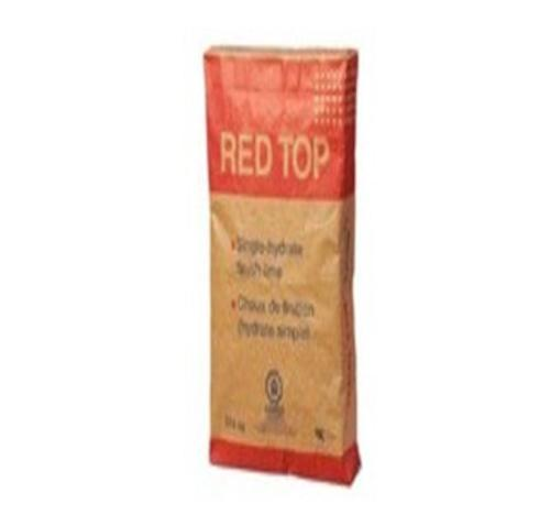 USG RED TOP Single Hydrated Finishing Lime - 50 lb Bag