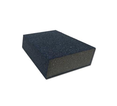 3 in x 5 in x 1 in Webb Abrasives Dual Angle Sanding Sponge - Fine/Medium