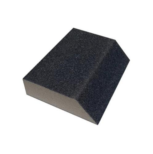 1 in x 2 5/8 in x 3 7/8 in Webb Abrasives Standard Sanding Block - Medium