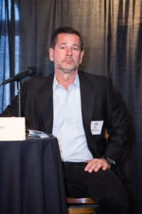 Jeff Ferry, Director, Goldman Sachs participates in CAPRE's Seventh Annual Northern California Data Center Summit, held on February 20, 2018 at St. Francis Yacht Club in San Francisco, CA.