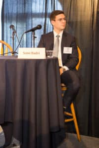 Sami Badri, Senior Analyst, Credit Suisse participates in CAPRE's Seventh Annual Northern California Data Center Summit, held on February 20, 2018 at St. Francis Yacht Club in San Francisco, CA.