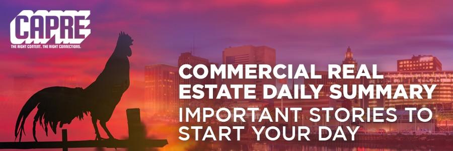 CAPRE's Commercial Real Estate Headlines for September 5