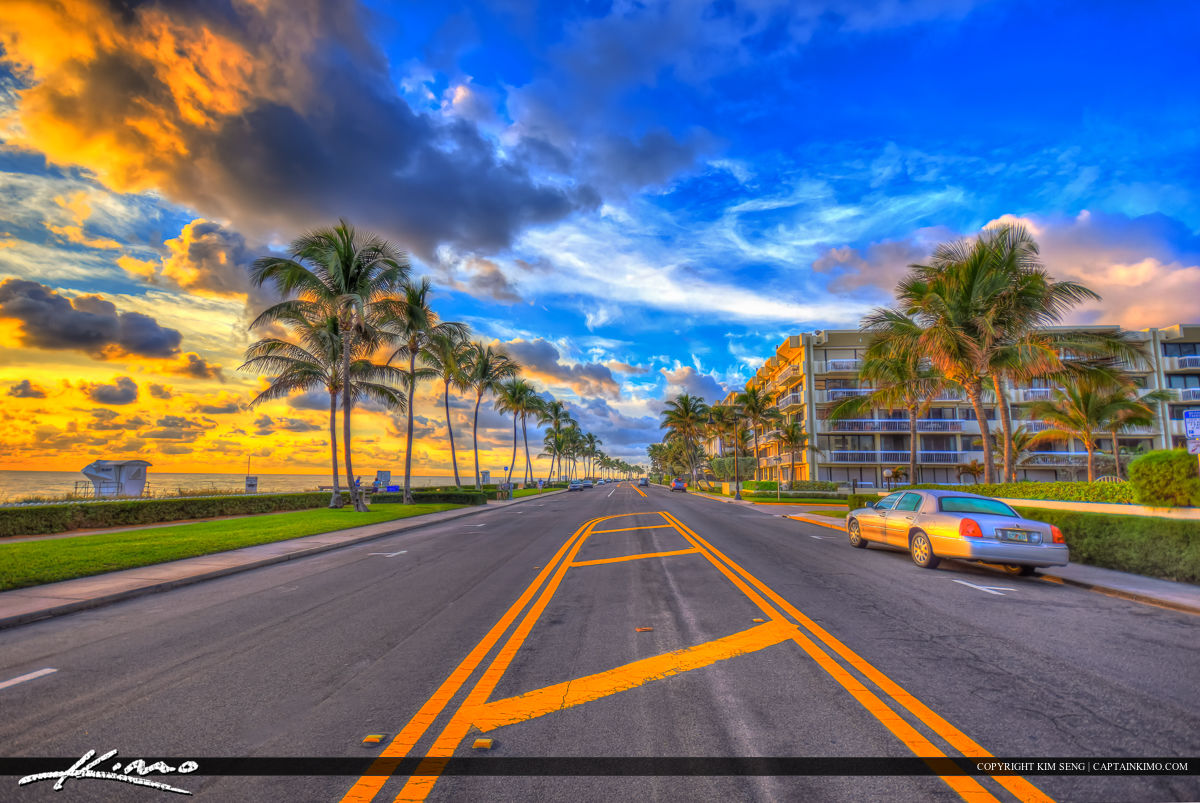 Ocean Boulevard Palm Beach Island Road