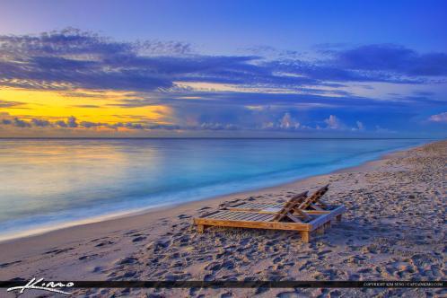 Deerfield beach fishing pier sunrise chair on sand for Deerfield beach fishing pier