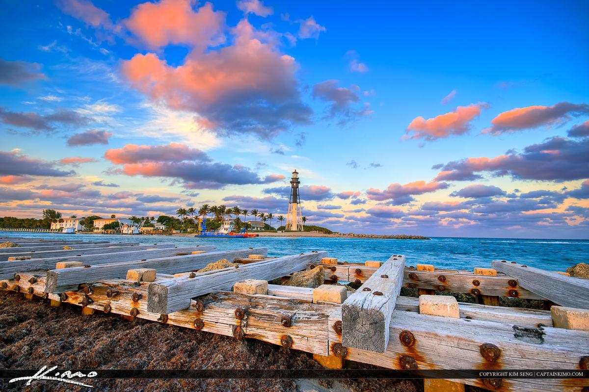 Hillsboro Inlet Lighthouse Pompano Beach Florida