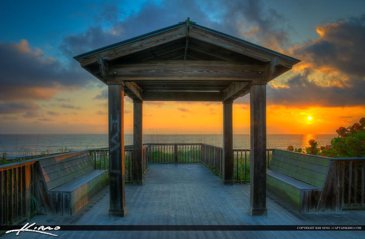 Hobe Sound National Wildlife Refuge Beach Park Sunrise