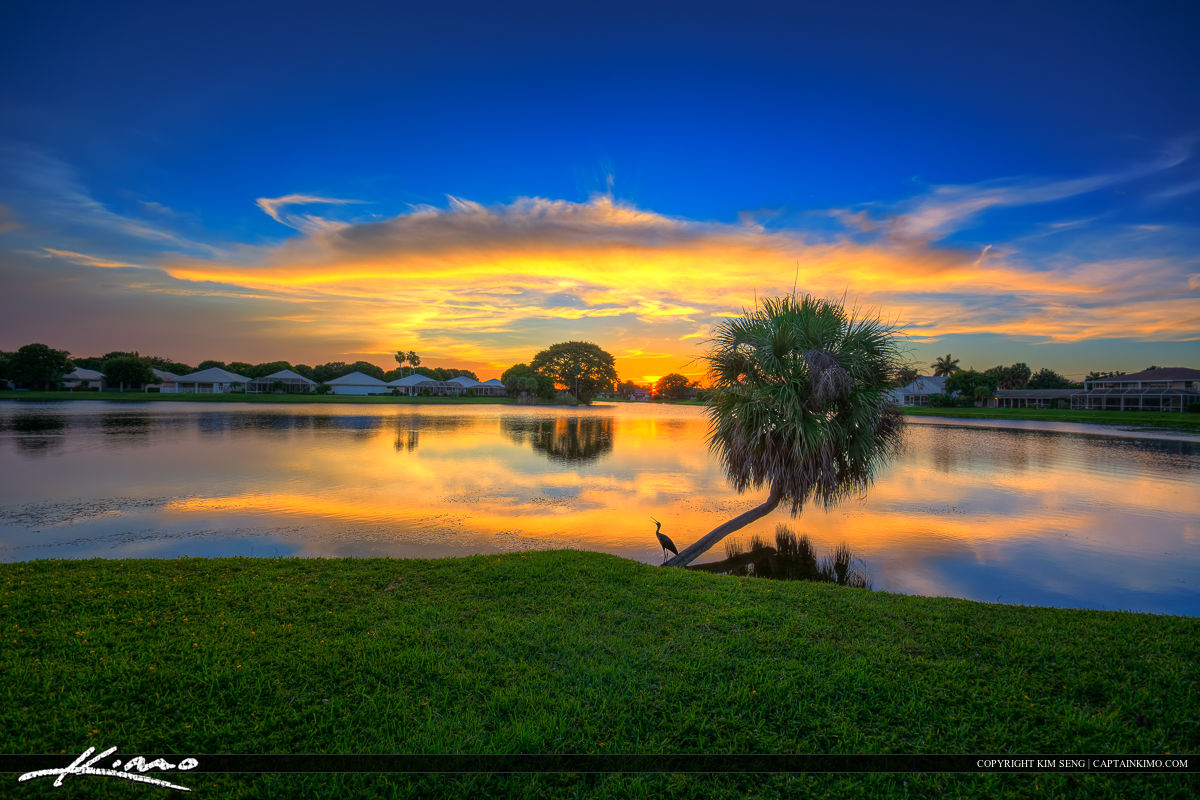 Palm beach gardens sunset by the lake - Weather palm beach gardens florida ...