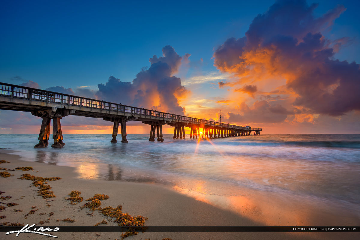 Pompano Beach Pier Sunrise