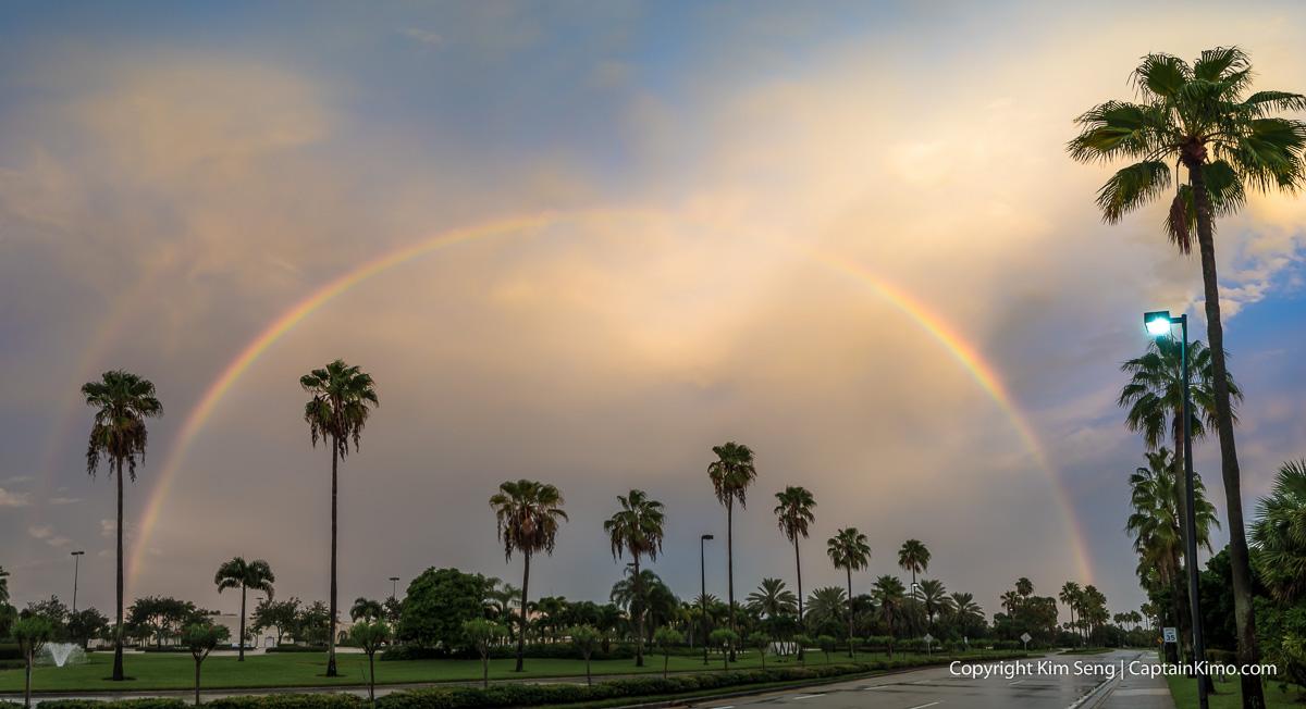 Rainbow over the gardens mall palm beach gardens florida - Weather palm beach gardens florida ...