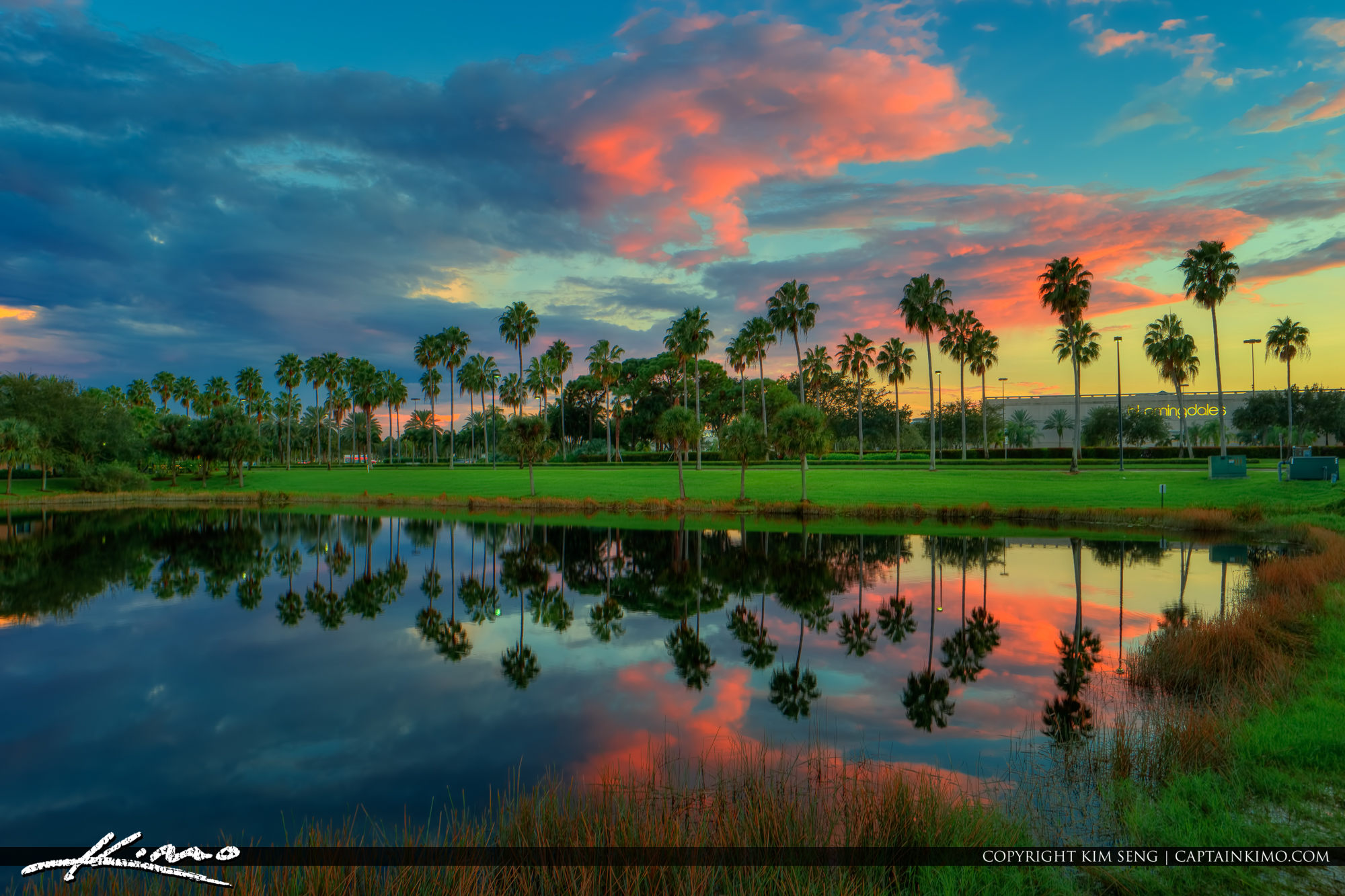 Palm Beach Gardens Colors in Sky