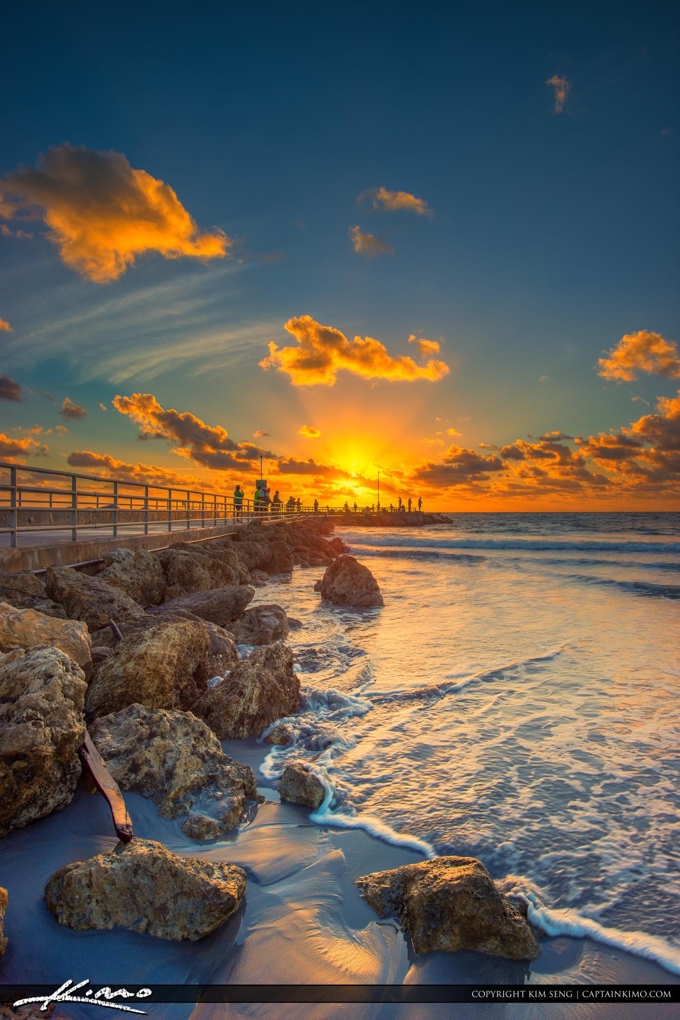 Jupiter inlet saturday morning sunrise for Morning sunrise images