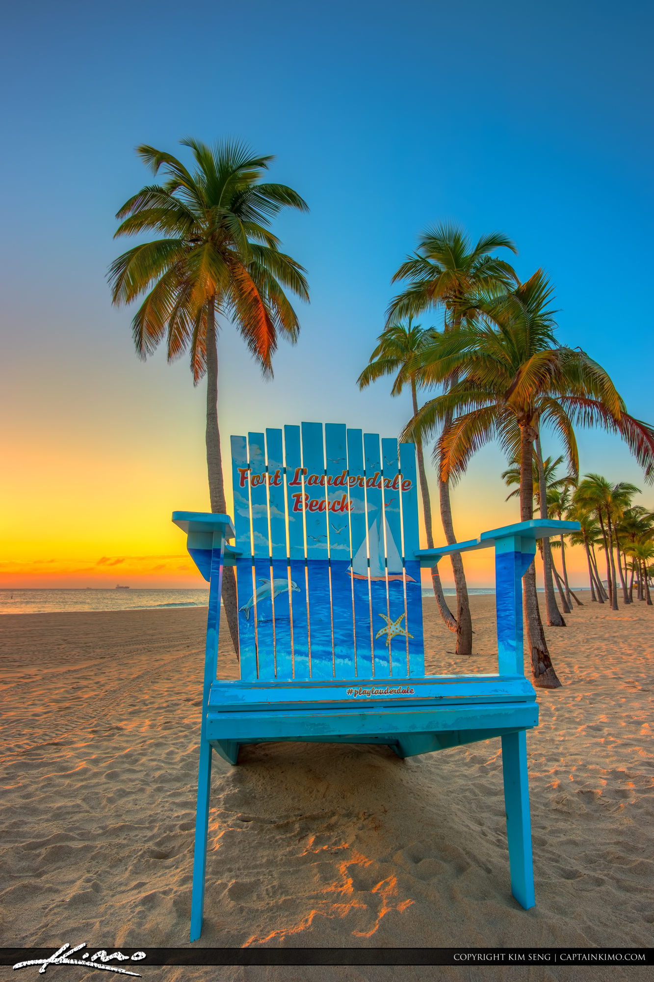 Beach chairs sunrise - Beach Chairs Sunrise