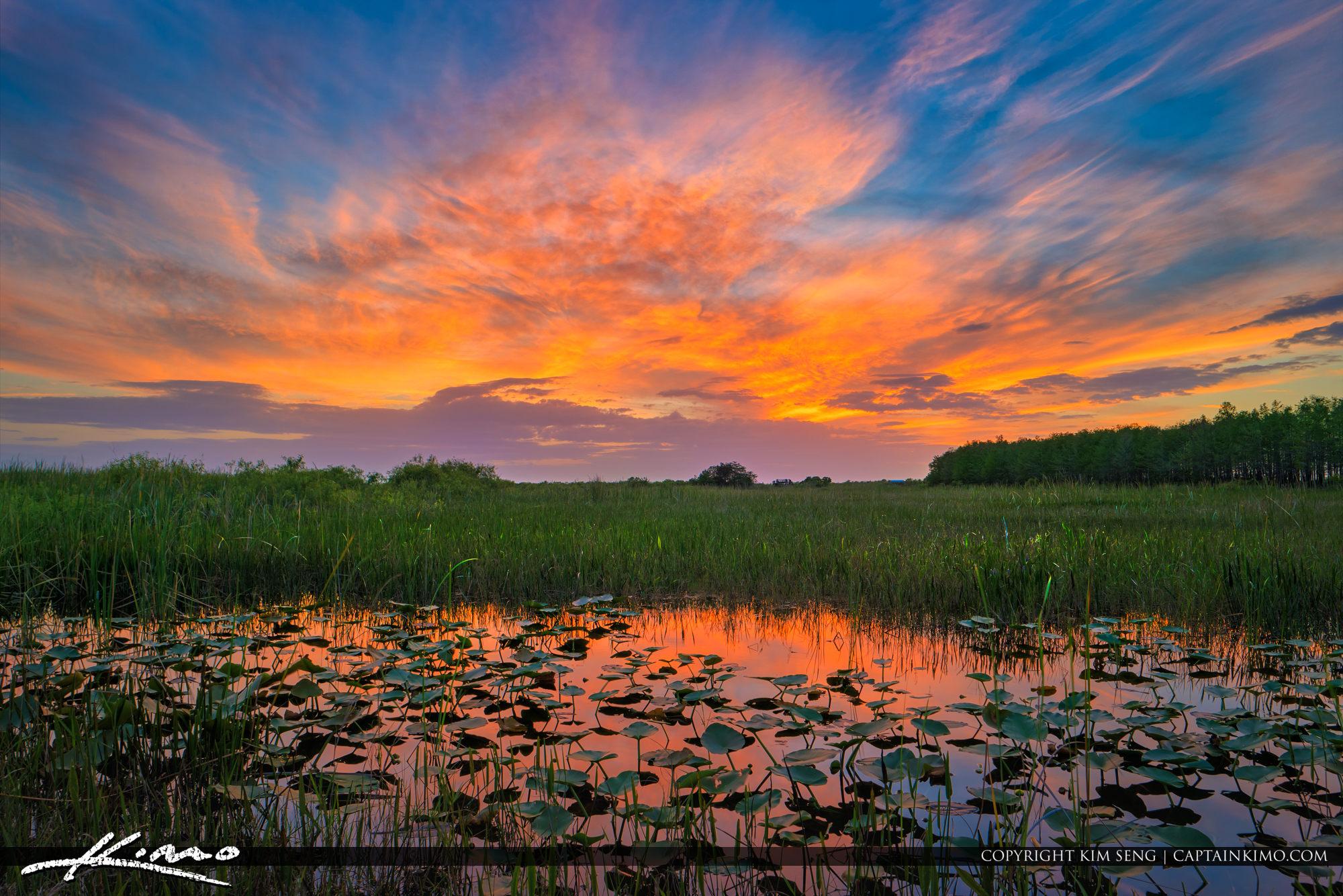 Arthur R. Marshall Loxahatchee National Wildlife Refuge Sunset