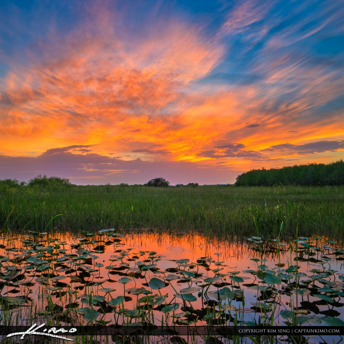 Arthur R. Marshall Loxahatchee National Wildlife Refuge Sunset