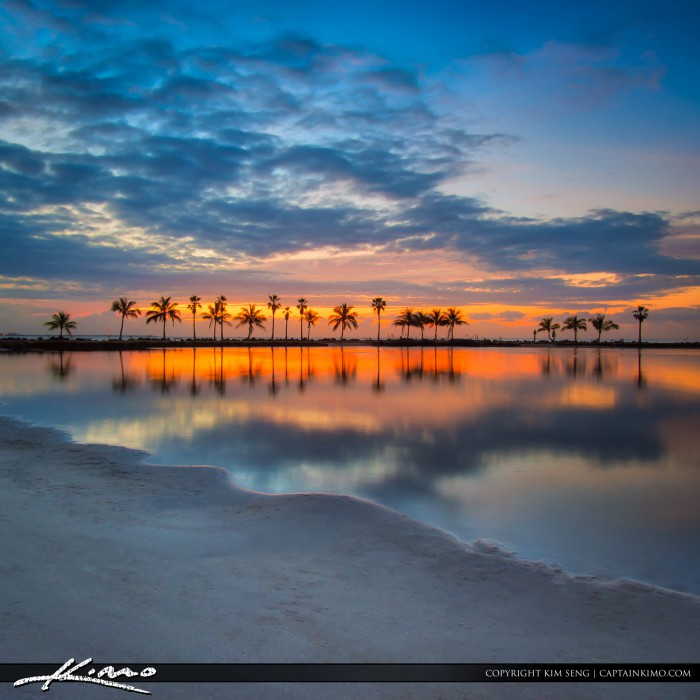 Sunrise Matheson Hammock Park Old Cutler Road Miami Florida