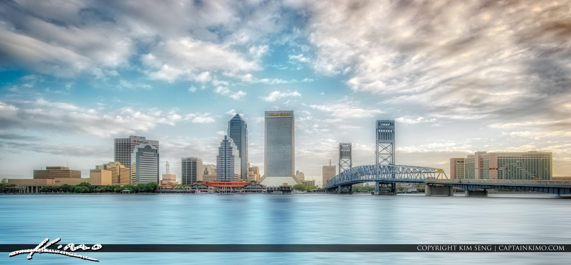 Jacksonville Skyline along the River