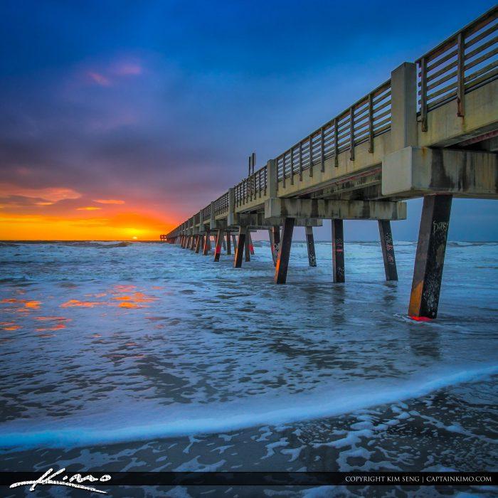 Sunrise Jacksonville Beach Pier