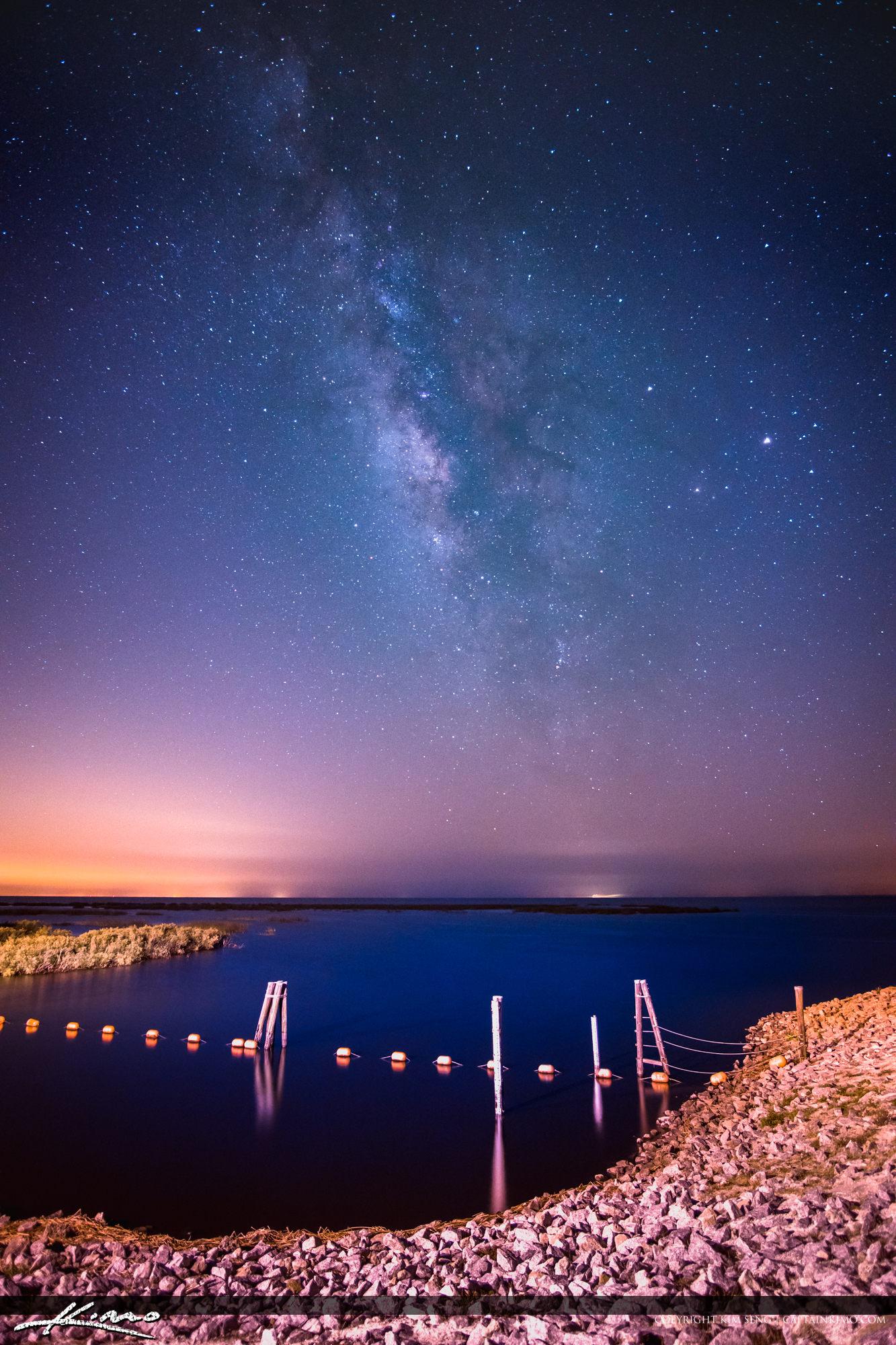 Milkyway Over Lake Okeechobee Florida