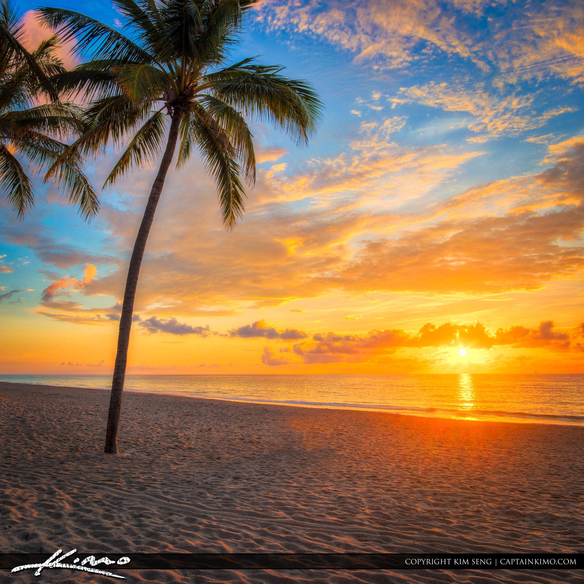 Hollywood Beach Florida Sunrise