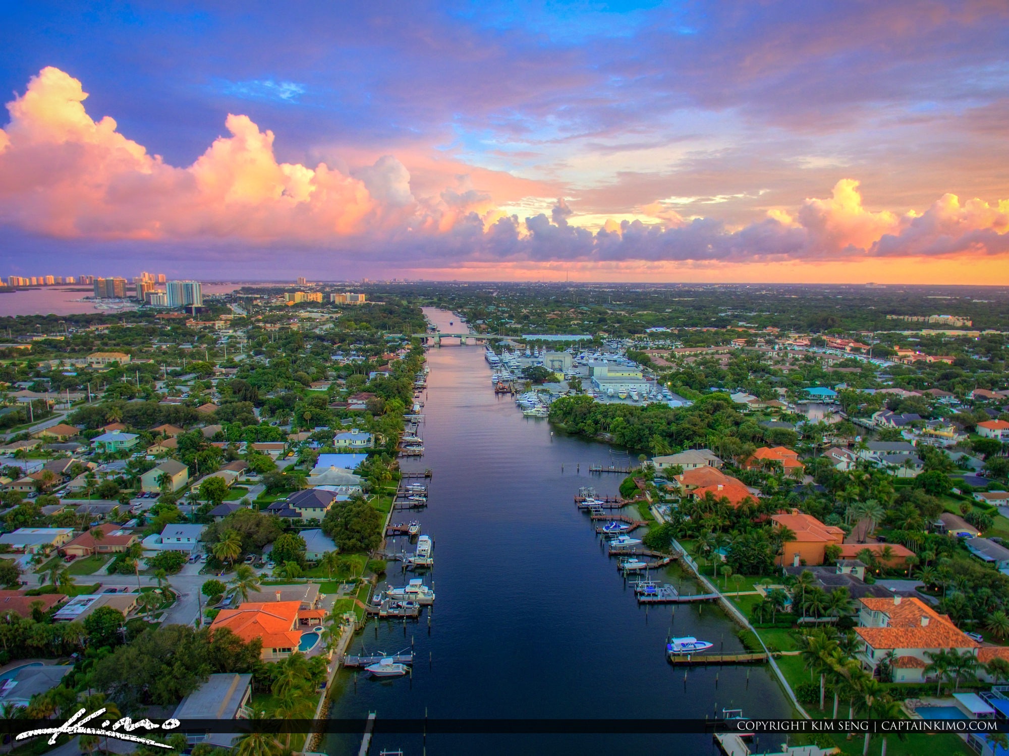 Waterfront Property North Palm Beach County Waterway
