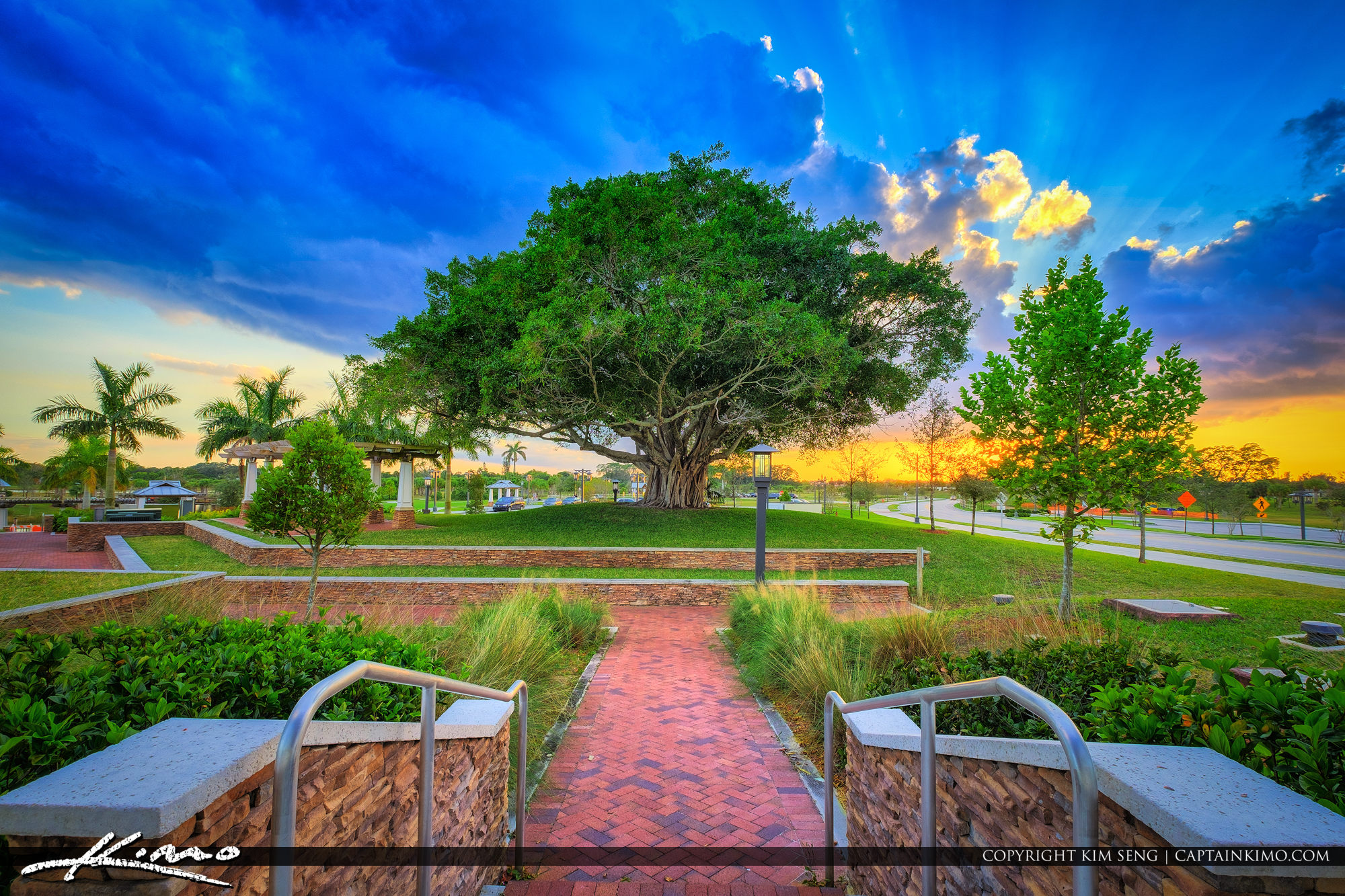 Royal Palm Commons Park in Royal Palm Beach Florida