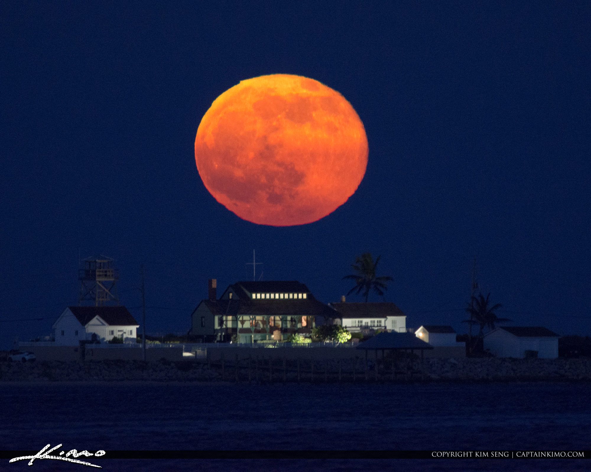 Full Thunder Moon Refuge House Stuart Florida