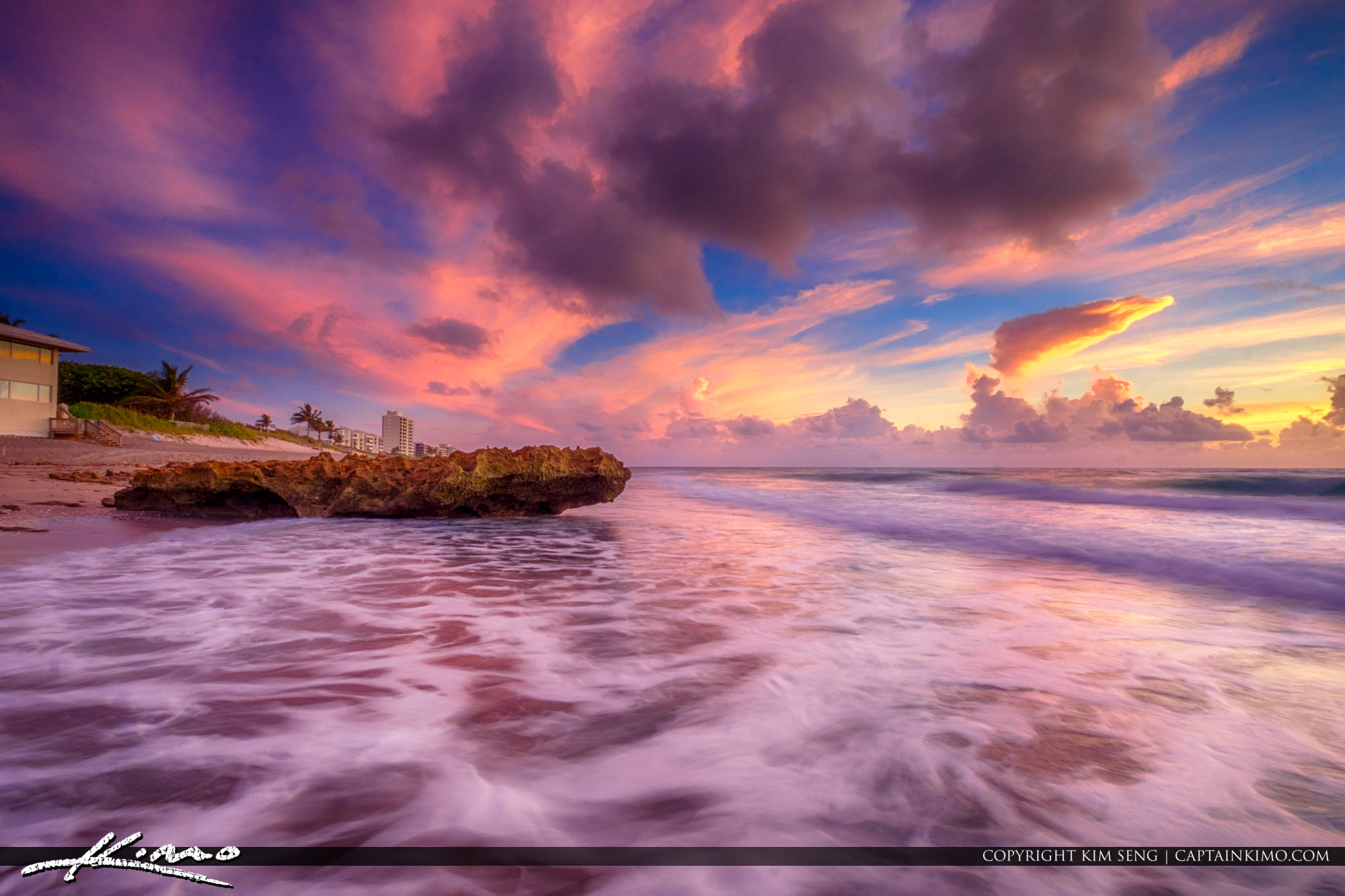 HDR Photography Coral Cove Park Sunrise North Sky Color