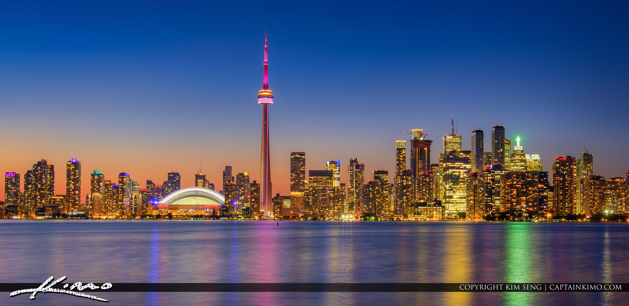 Toronto Ontario Canada Skyline from Center Island 2f4902b8305