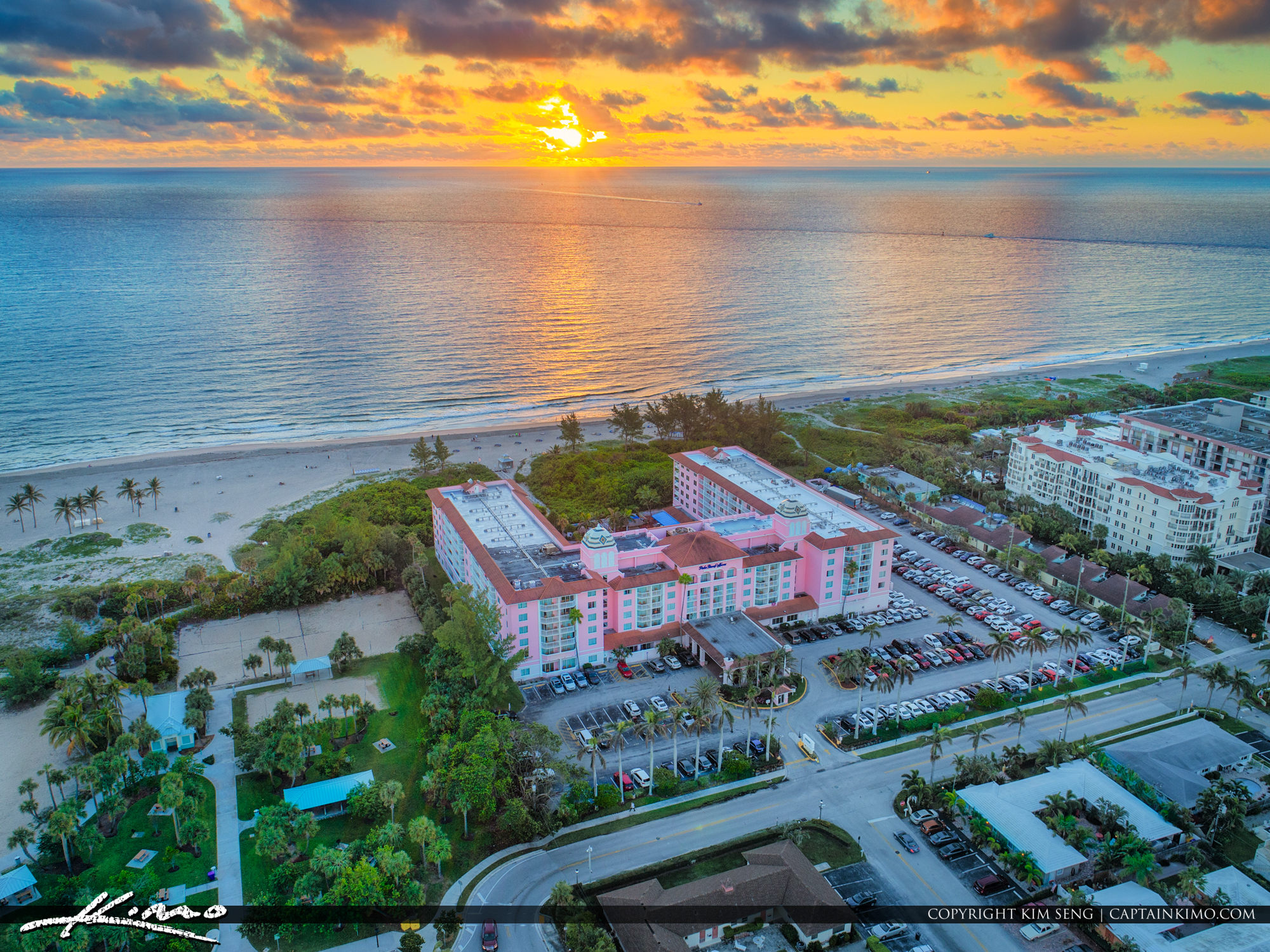 Palm Beach Shores Resort Singer Island Florida Sunrise
