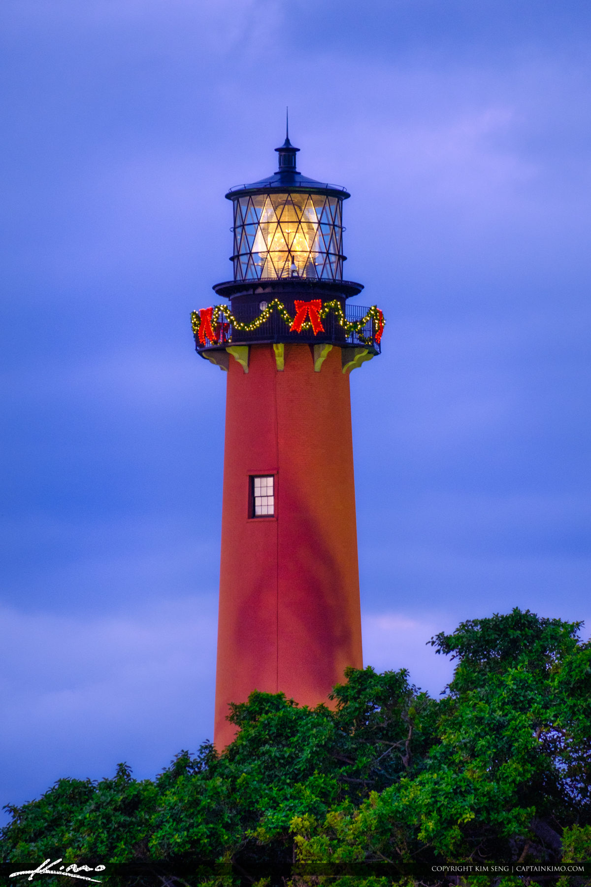 Jupiter Lighthouse Holiday Lights 2017