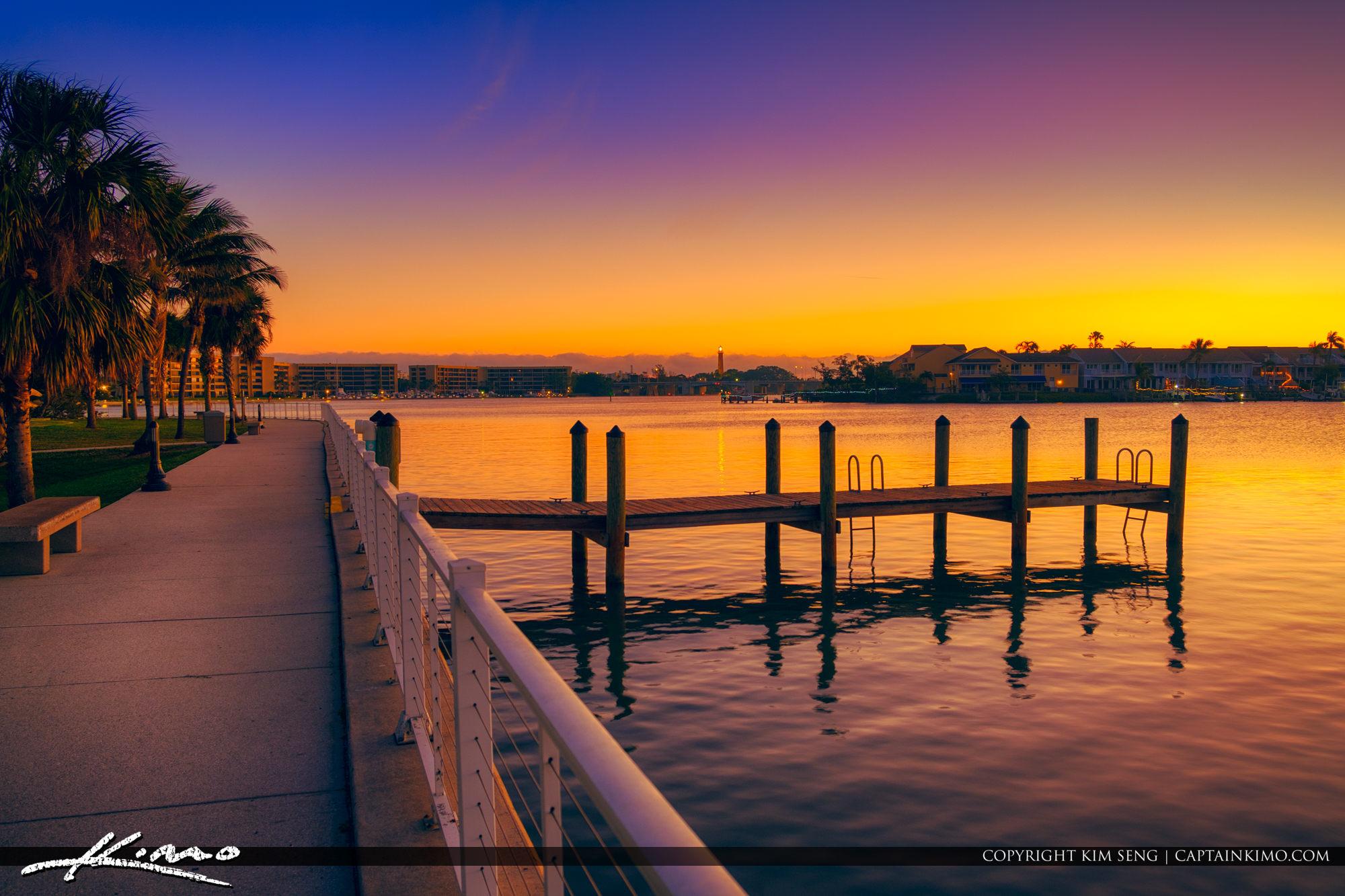 Sawfish Bay Park Jupiter Florida Last Sunrise 2017