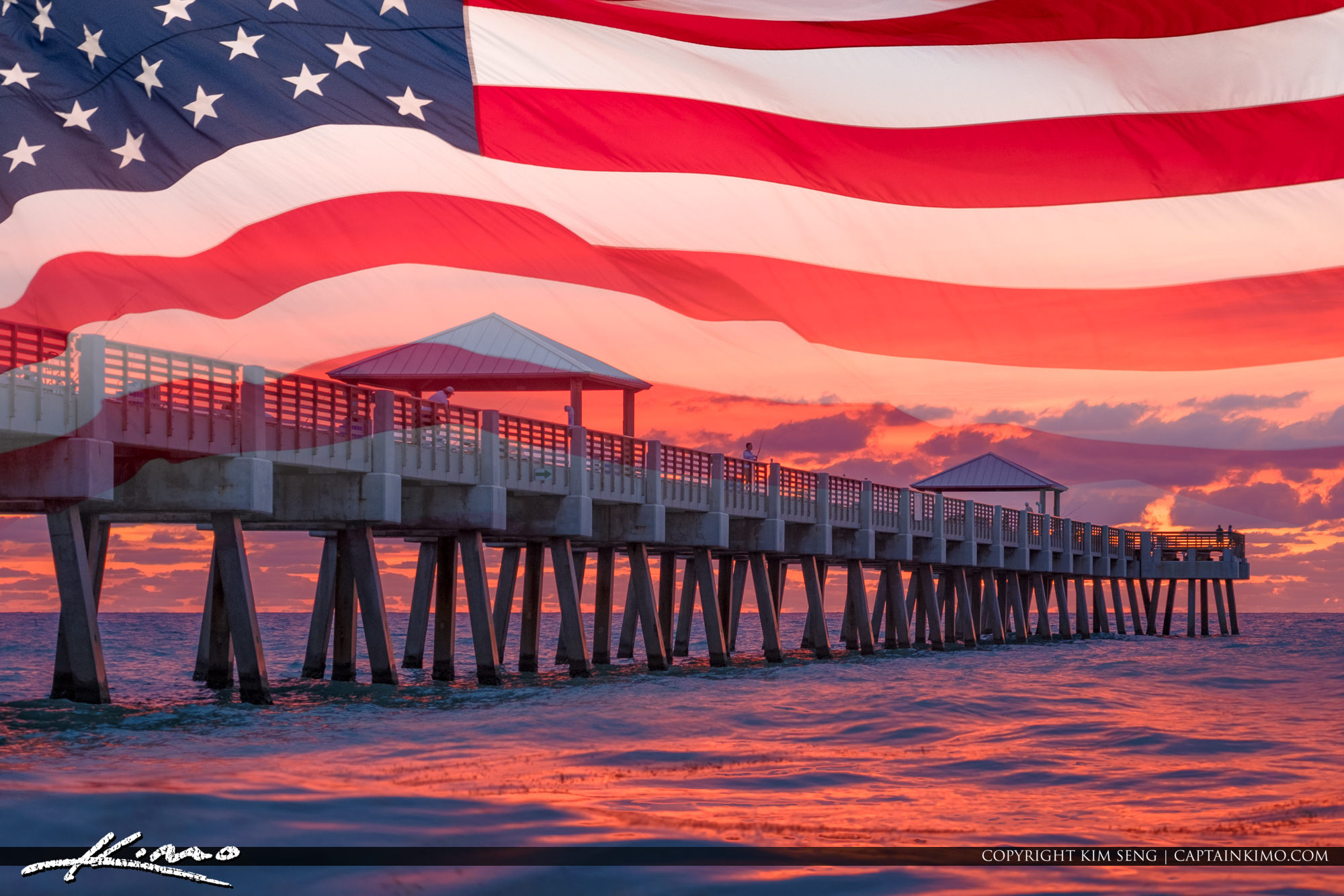 Memorial Day Juno Beach Pier Sunrise May 2018