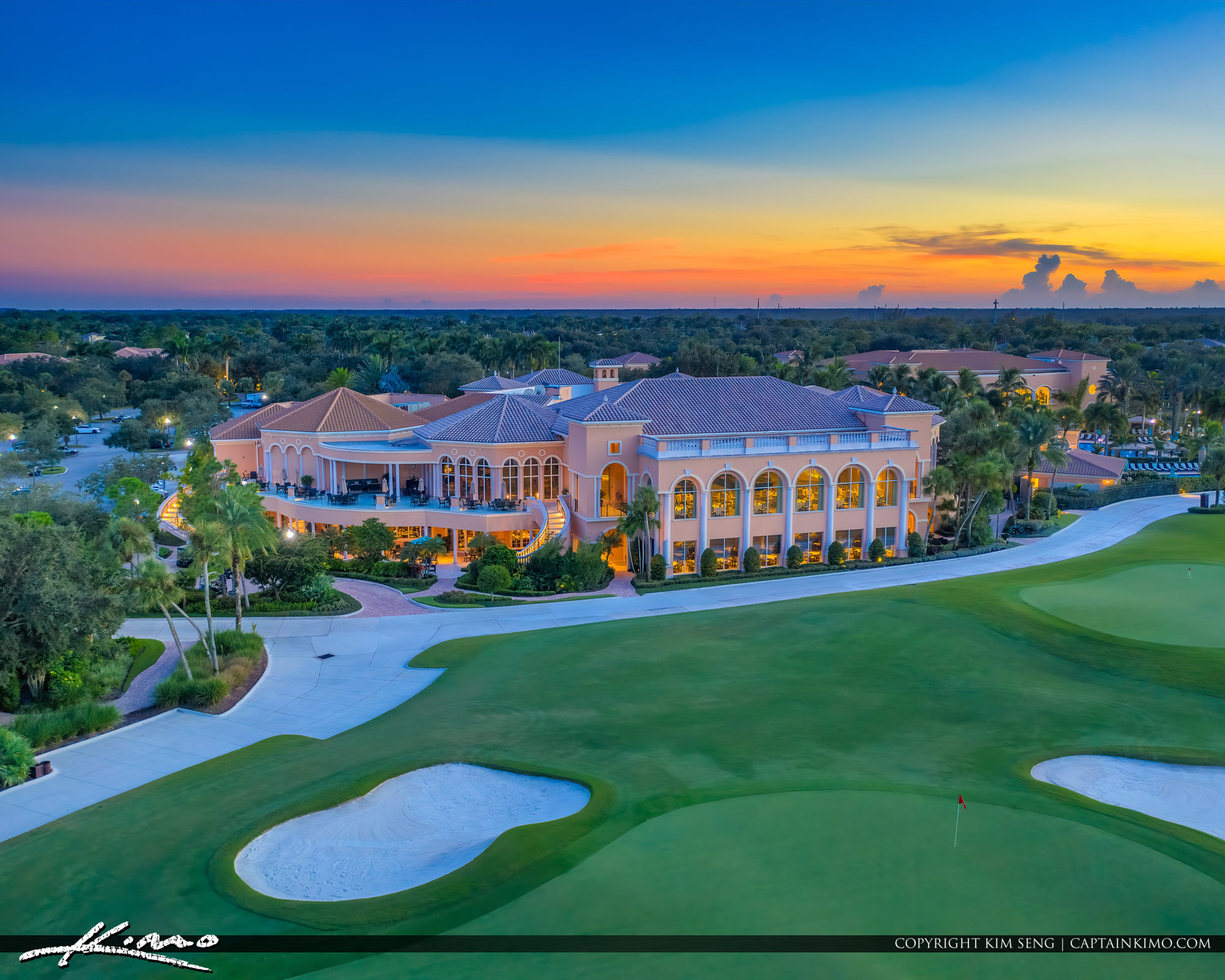 The Country Club at Mirasol Club House Palm Beach Gardens