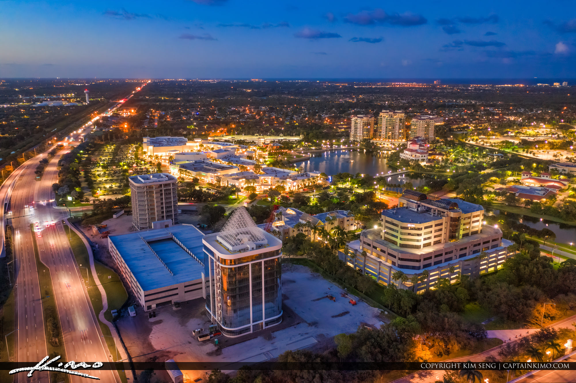 DiVosta Towers Class A Office Buildings Palm Beach Gardens