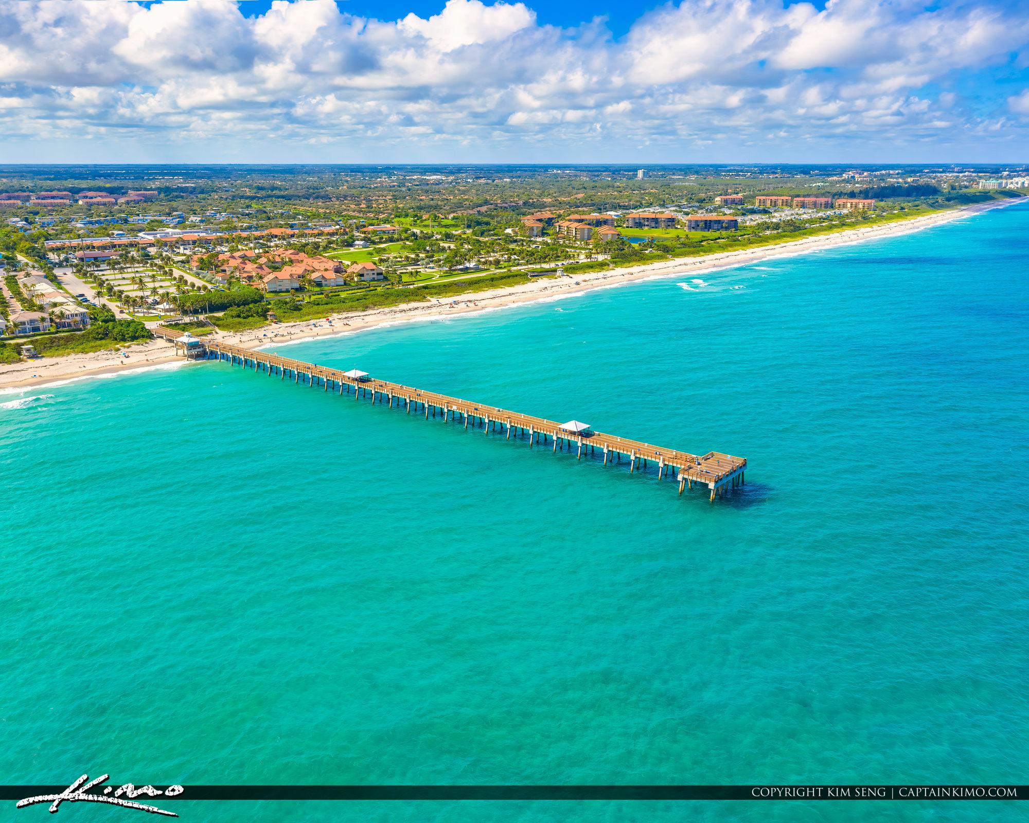 Juno Beach Florida Blue Water along the Beach