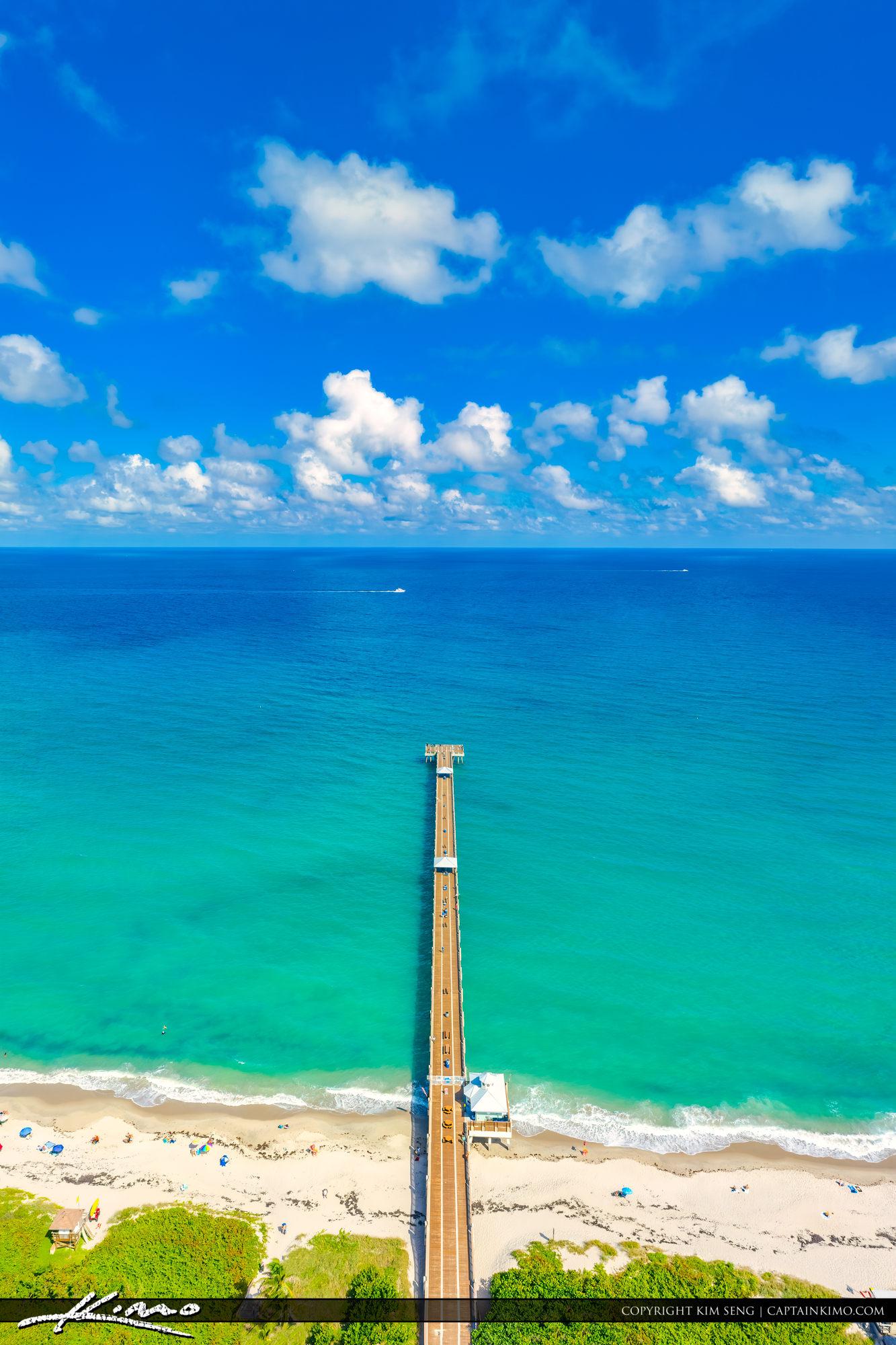 Juno Beach Florida Vertical Pano Aerial