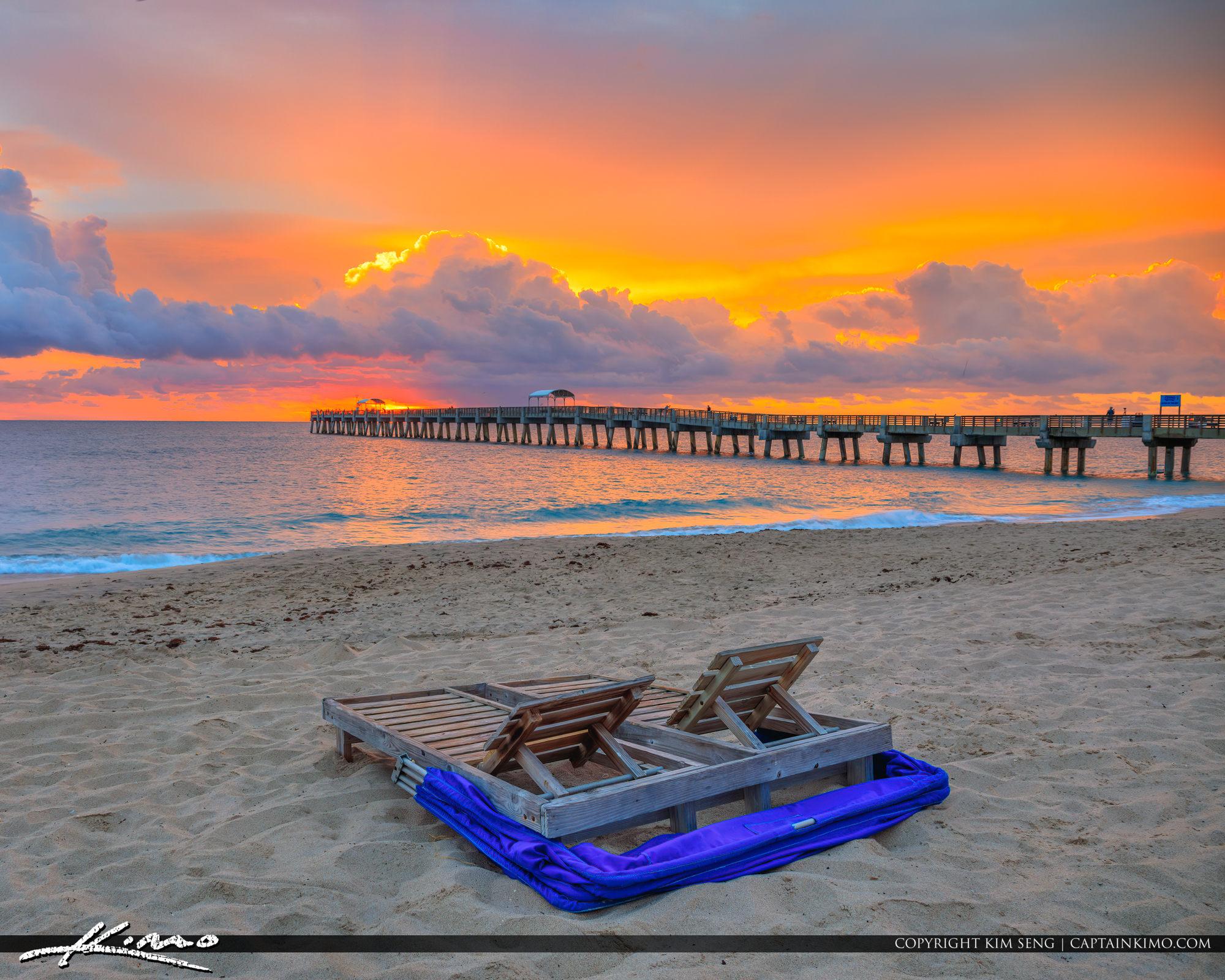 Lake Worth Fishing Pier Sunrise Thanksgiving Day 2018