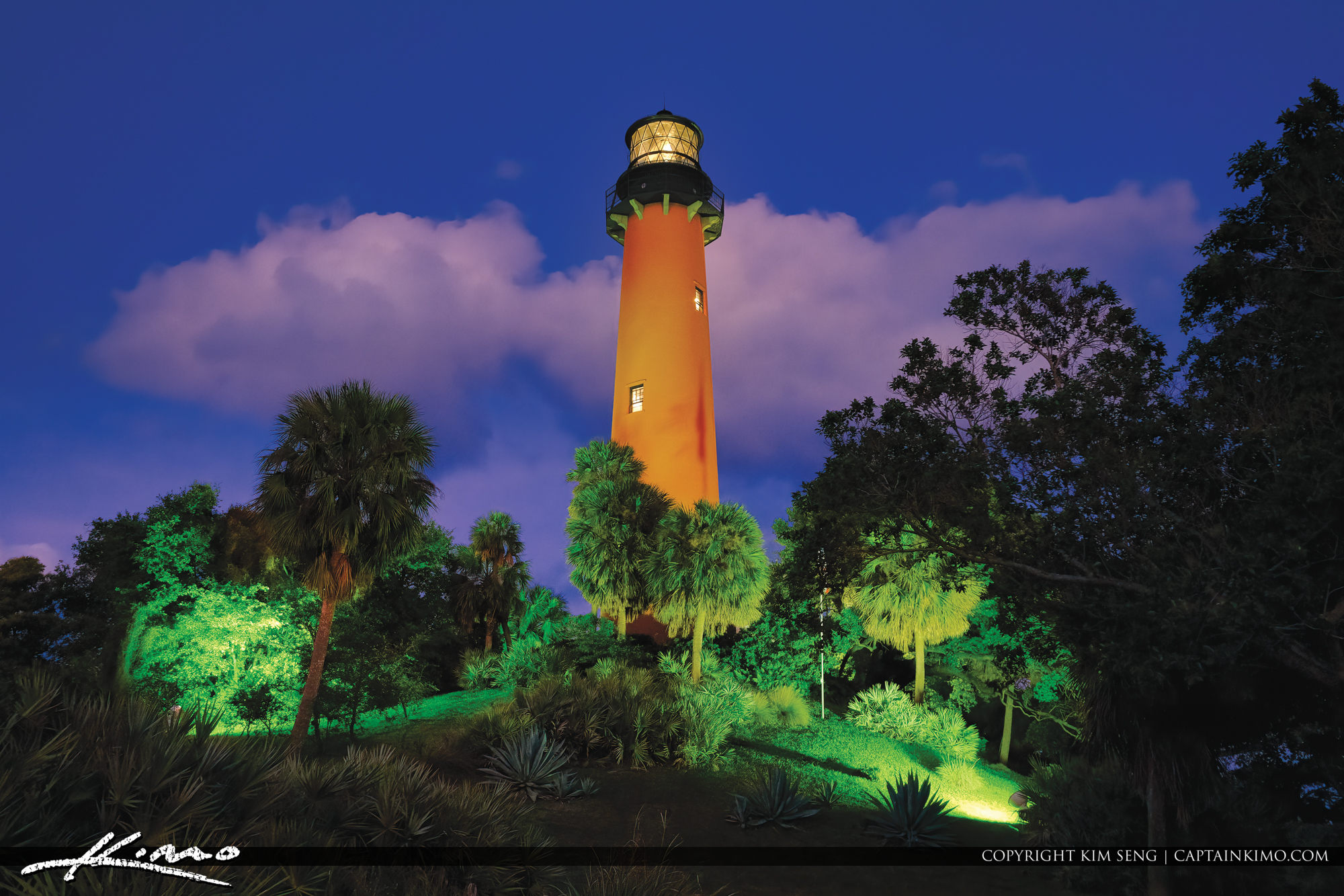 Jupiter Lighthouse Sunset Tour at Twilight