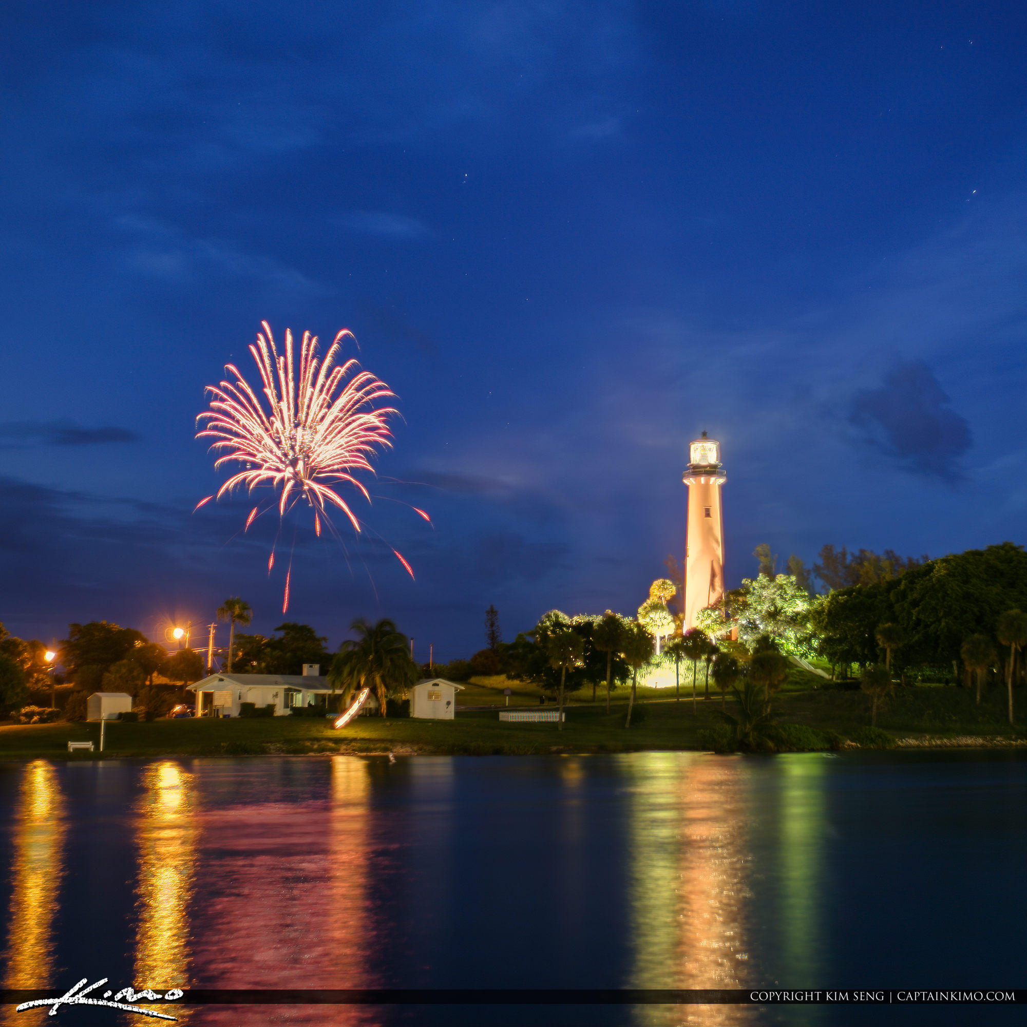 Happy Fourth of July 2019 Jupiter Lighthouse