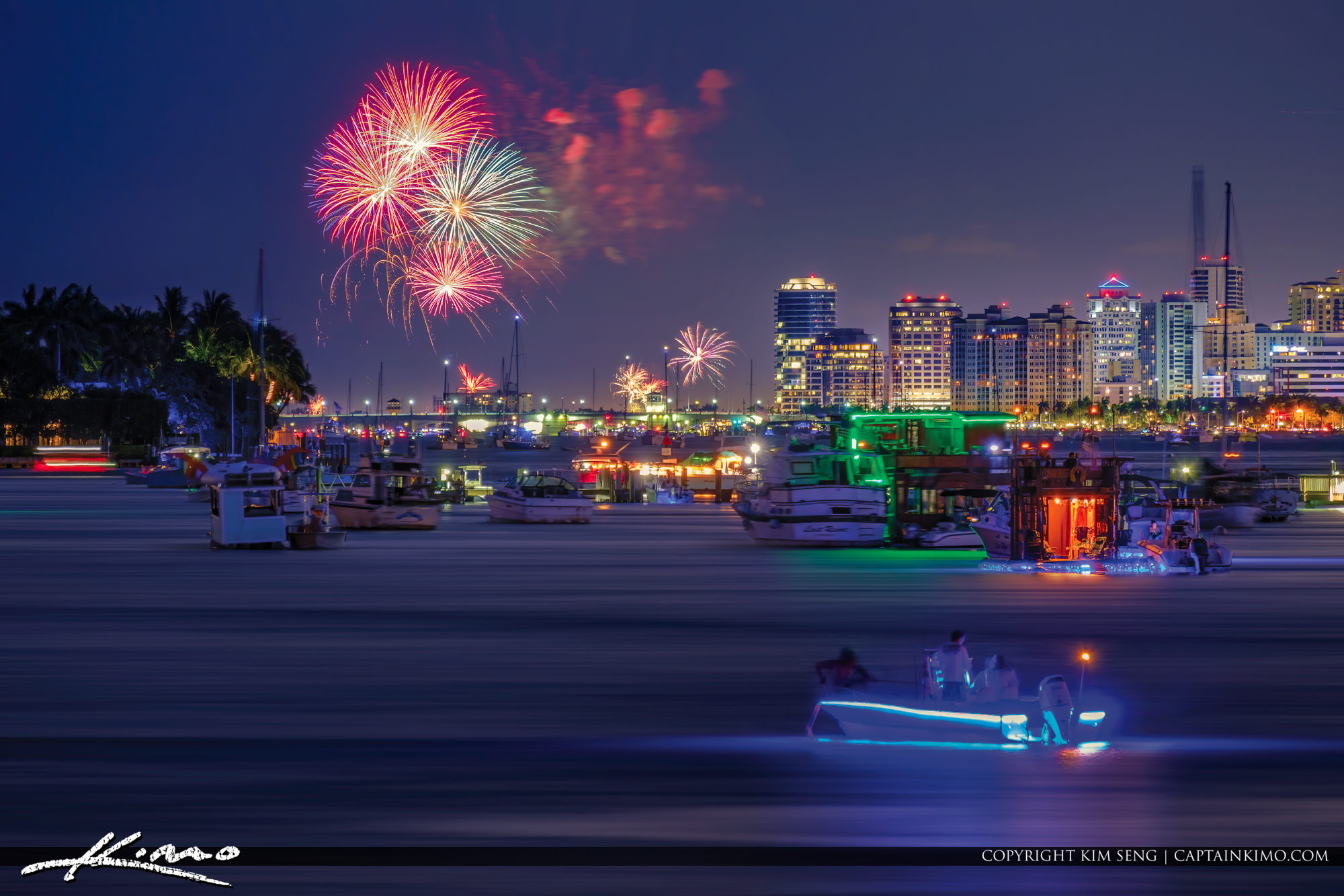 West Palm Beach 4th of July 2019 Fireworks