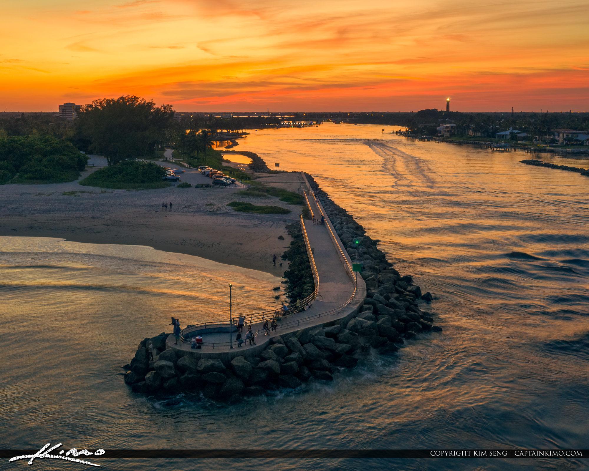 Jupiter Inlet Sunset