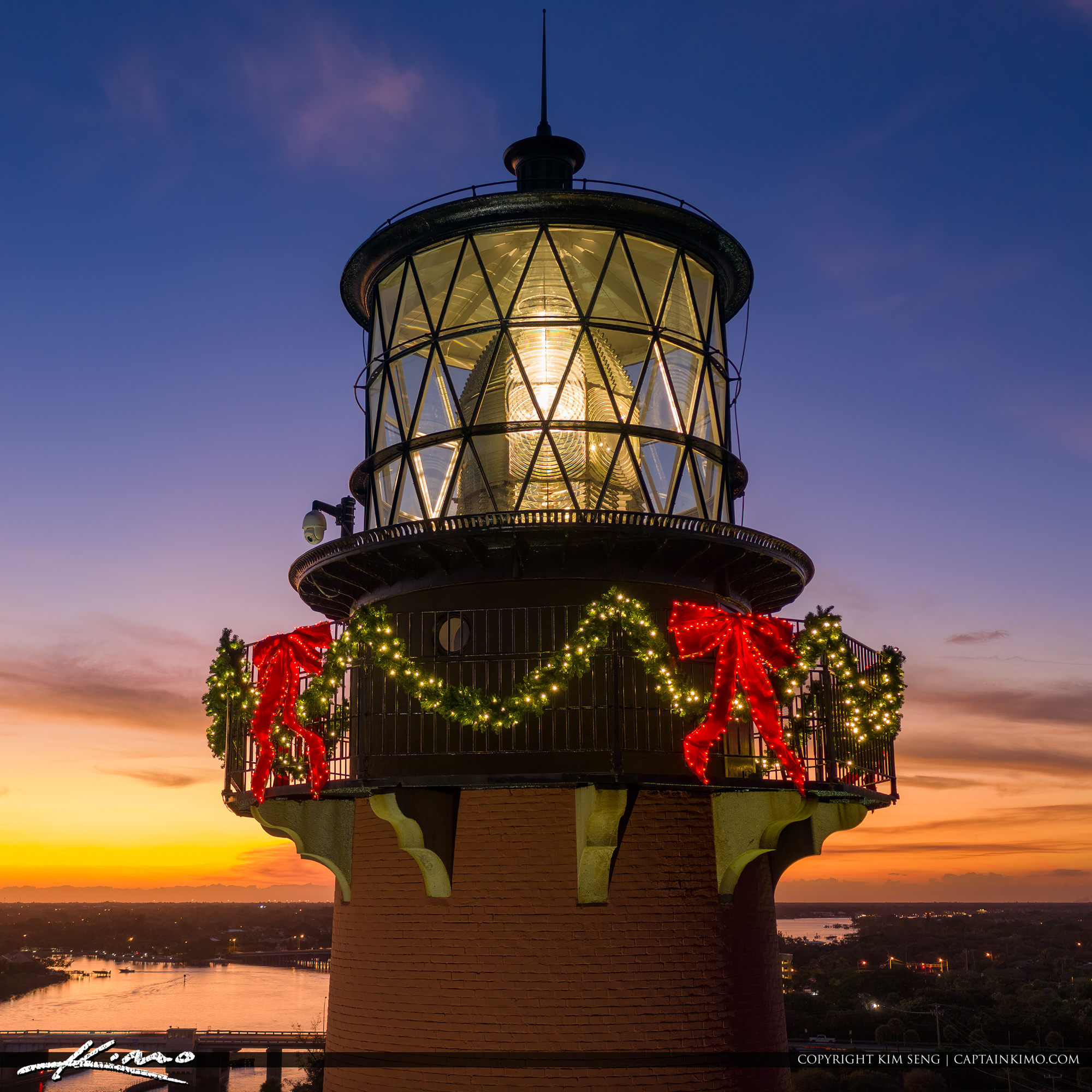 Jupiter Lighthouse Christmas Decoration 2019