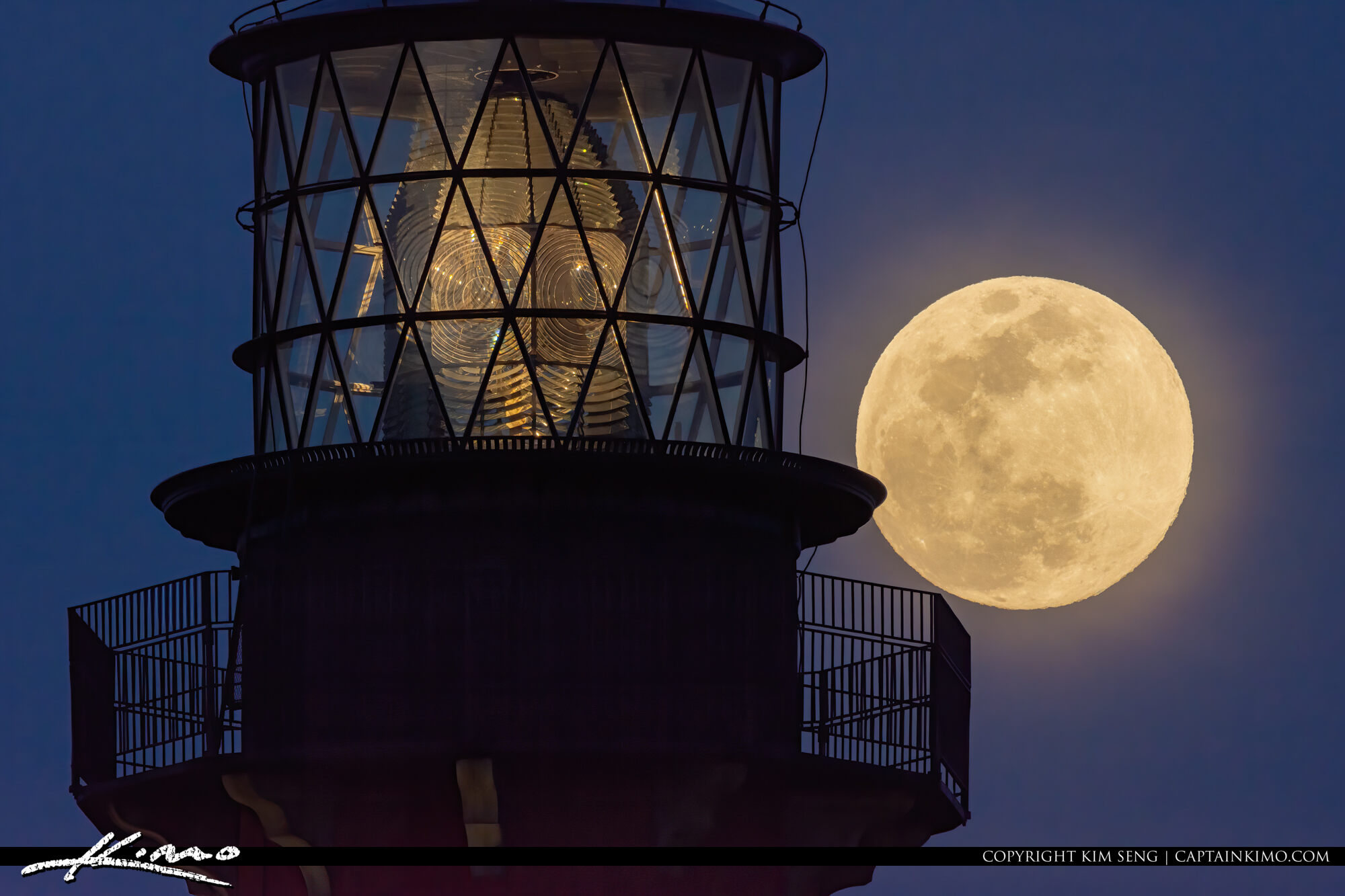 Night Sky Jupiter Lighthouse Moon Rise May 6, 2020