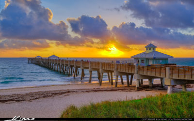 Juno Beach Pier Sunrise February 23 2019