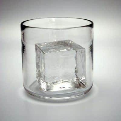 "CUBE ""Rocks"" glass"