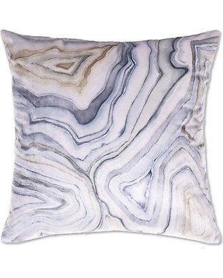 22x22 Velvet With Marble Digital Print Cushion