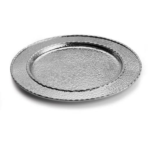Hammertone Charger/Platter - Carats Jewelry and Gifts