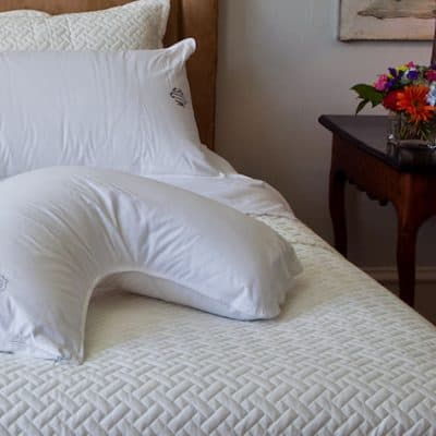 Dr. Mary Side Sleeper Down Filled Pillow